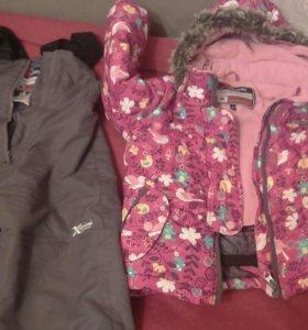 Куртка и брюки зима 98 рост