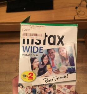 Фотопленка Instax Fujifilm Wide