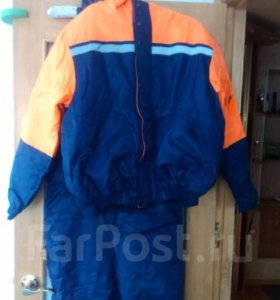 Костюм утепленный ( куртка и полукомбинезон)