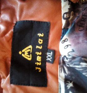 Кожаная куртка 48 размер