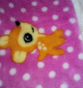 Пижамка детская теплая