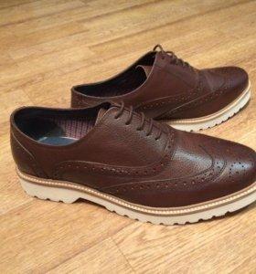 Кожаные туфли (броги) Ben Sherman, 42 р