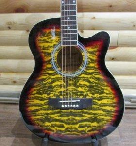 Акустическая гитара Elitaro E4030C Tiger НОВАЯ