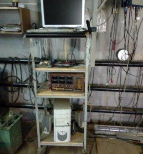 - компьютер с программами для диагностики ДВС