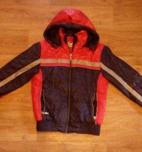 Куртка на мальчика,8-10лет