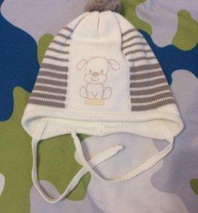 Детская тёплая шапка