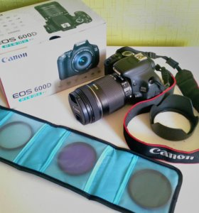 Canon 600D EF-S 18-135 IS