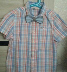 Рубашка H&M ,р.134