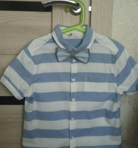 Рубашка H&M,р.134