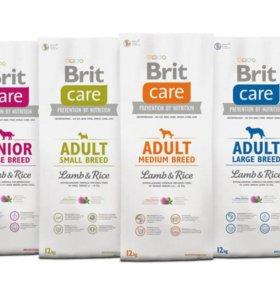 Корм для собак Brit Care