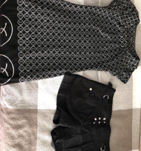 Брюки, шорты, толстовки, платье, туника