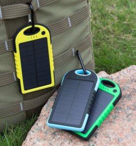Powerbank на солнечных панелях