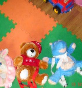 Рюкзаки-игрушки