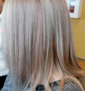 Женские стрижки, укладки, окрашивание волос....