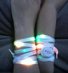 Шнурки LED