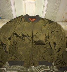 Куртка утеплённая осень