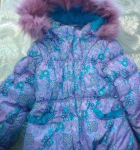 Куртка+ штаны+ жилетка, зимняя детская