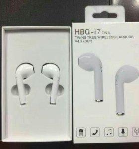 Bluetooth наушники HBQ i7