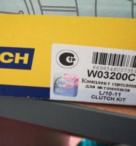 Сцепление комплект новый на Ваз 2110