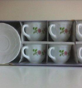 Чайный сервиз в упаковке