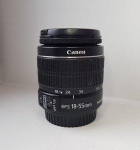 Объектив Canon efs 18-55 mm macro 0.25m/0.8ft