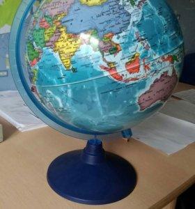 Глобус школьный