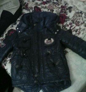 Куртка для мальчика 4-5 лет, межсезонье.