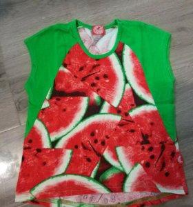 Туника-футболка 92-98 см