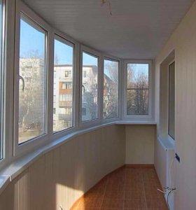 Внутренняя и наружняя отделка балконов и лоджий