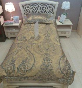 Кровать 90х200 с матрасом