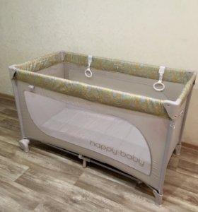 Манеж-кровать Happy baby (новый)