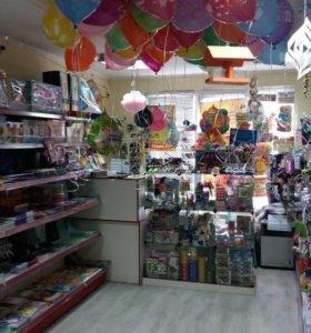 Готовый магазин детских и канцелярских товаров
