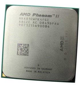 Процессор AMD Phenom II x4 810