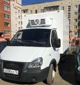 Грузоперевозки по РФ Газель рефрижиратор.