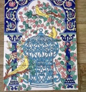 Керамическое панно (ручная работа)