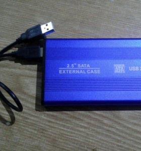 Съемный Жесткий диск Hitachi на 320 Гб