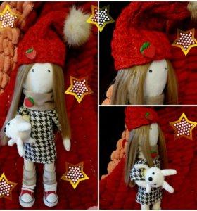 Текстильная, Интерьерная кукла