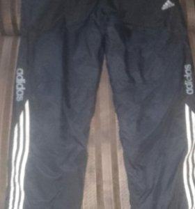 Штаны спортивные' утепленные adidas