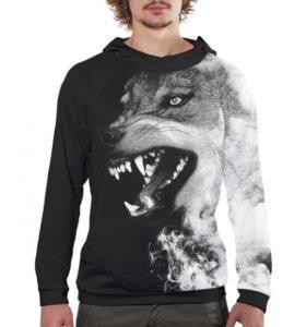 Толстовка Волк