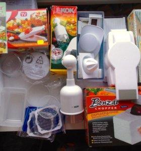 Овощерезки для домохозяек и общепита (набор 4 шт)
