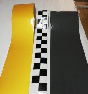 Готовый комплект наклеек для такси по ГОСТу