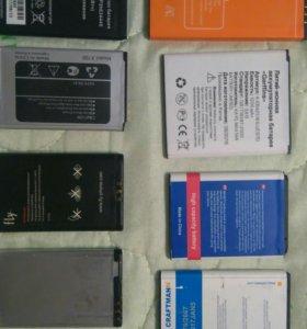 Акамуляторы для телефона