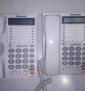 Продам 2 телефона Panasonic