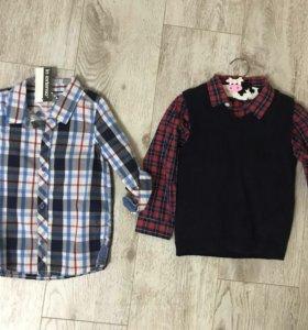 Рубашки 98-104