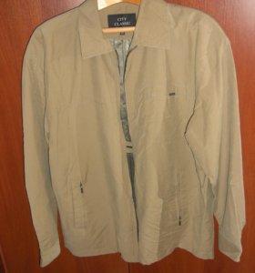 куртка мужская бежевая