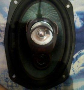 Аудио калонки на авто