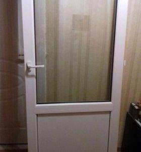 Пластиковая дверь Grain