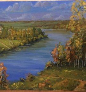 Картина маслом живопись на холсте