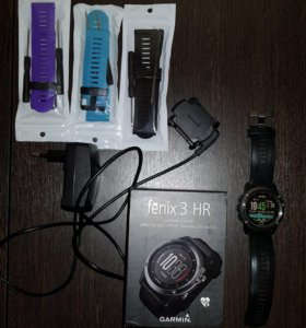 Часы Garmin Fenix 3 HR Sapphire