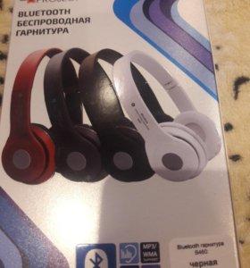 Блютуз FM MP3 Наушники